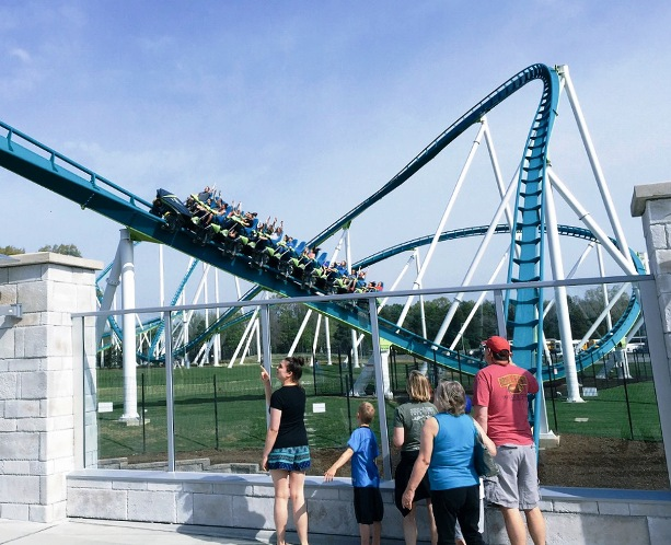 Fury 325 roller coaster at Carowinds Park in Charlotte, NC - IncredibleNC